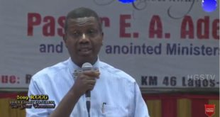 Today's Daily Declaration for Wednesday 3rd June, 2020 By Pastor E.A Adeboye