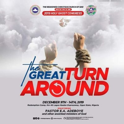 RCCG CONGRESS 2019 PRAYER POINTS E.A ADEBOYE