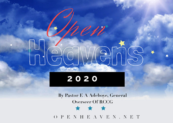 TODAY OPEN HEAVEN