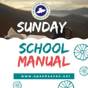 RCCG SUNDAY SCHOOL TEACHER'S MANUAL MAIDEN SPECIAL FOR YOUNG ADULTS AND YOUTHS (YAYA) 14TH MARCH 2021 LESSON 28