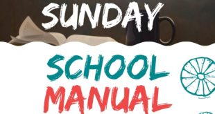 RCCG SUNDAY SCHOOL STUDENT'S MANUAL LESSON THIRTY-TWO SUNDAY 11TH APRIL 2021