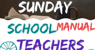 RCCG SUNDAY SCHOOL TEACHER'S MANUAL LESSON THIRTY-THREE SUNDAY 18TH APRIL 2021