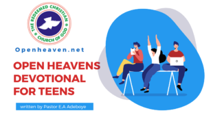 open heaven Teens