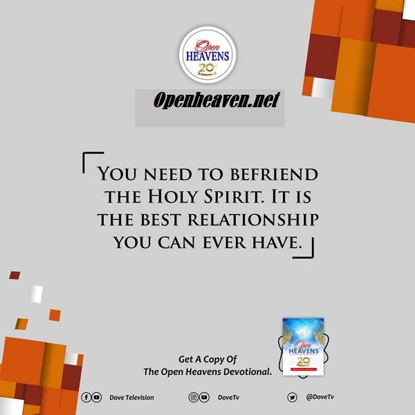 Open Heaven quote