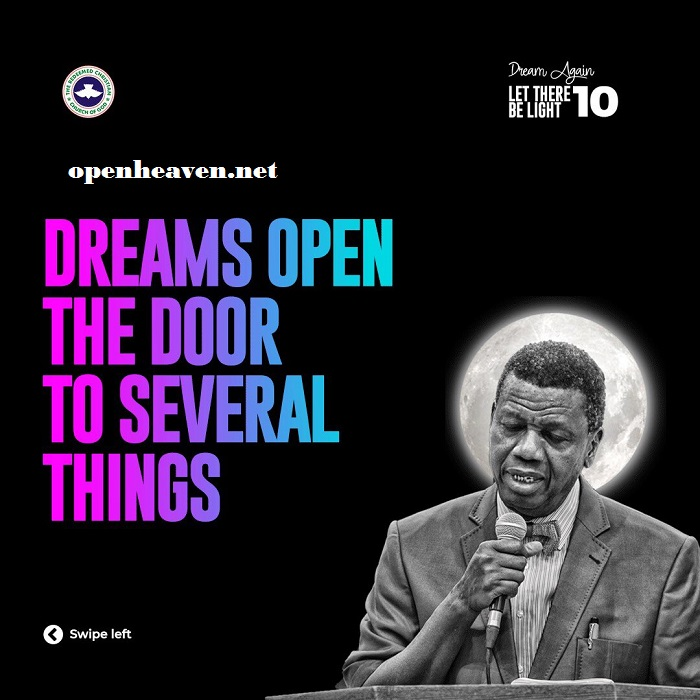 EA Adeboye Dreams Open Doors