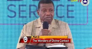 THE WONDERS OF DIVINE ENCOUNTER By PASTOR E.A. ADEBOYE