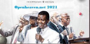 Open heaven January 2021