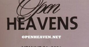Open Heaven 23 April 2021 Devotional