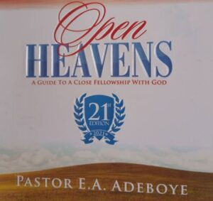 OPEN HEAVEN 14 APRIL 2021 TOPIC: In His Presence