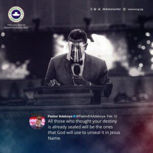 Pastor EAAdeboye
