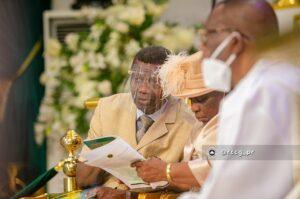 Daddy and Mummy Folu Adeboye