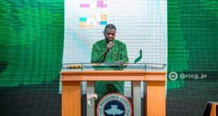 RCCG E A ADEBOYE PRAYER FOR NIGERIA
